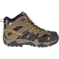Merrell Men's Moab 2 Vent Mid Waterproof Comp Toe Work Boots
