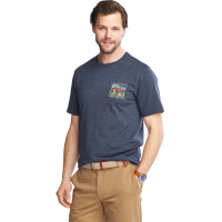 G.h. Bass Men's Off Road Graphic Short-Sleeve Tee