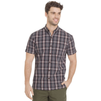 G.h. Bass & Co. Men's Summit Creek Seersucker Medium Plaid Short-Sleeve Shirt