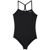 Nike Big Girls' Solid Racerback One-Piece Swimsuit