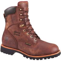 Chippewa Men's 8 In. 99932 400Gm Waterproof Work Boots, Medium