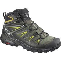 Salomon Men's X Ultra 3 Mid Gtx Waterproof Hiking Boots - Size 10.5