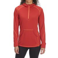 EMS Women's Techwick Dual Thermo Ii Half Zip Pullover Hoodie - Size M