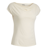 EMS Women's Serenity Cowl-Neck Cap-Sleeve Tee - Size S