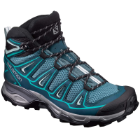 Salomon Women's X Ultra Mid Aero Hiking Boots, North Atlantic/reflecting Pond/ceramic - Size 8