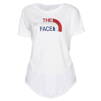 The North Face Women's Americana Tri-Blend Track Short-Sleeve Tee - Size M