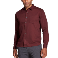 Van Heusen Men's Never Tuck Slim Fit Long-Sleeve Shirt