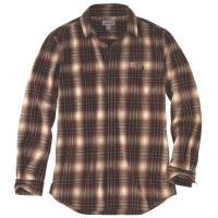 Carhartt Men's Hubbard Plaid Long-Sleeve Flannel Shirt