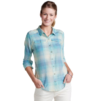 Toad & Co. Women's Airbrush Deco Long-Sleeve Shirt - Size L
