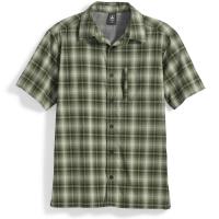 EMS Men's Journey Plaid Short-Sleeve Shirt - Size S