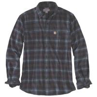Carhartt Men's Rugged Flex Hamilton Plaid Long-Sleeve Shirt