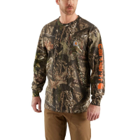Carhartt Men's Workwear Camo Long-Sleeve Tee