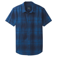 Prana Men's Ecto Space Dye Short-Sleeve Shirt - Size L