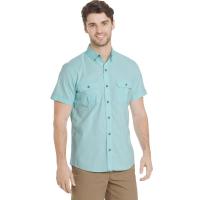 G.h. Bass & Co. Men's Salt Cove Pigment Solid Short-Sleeve Shirt
