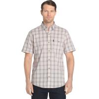G.h. Bass & Co. Men's Madawaska Textured Short-Sleeve Trail Shirt