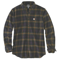 Carhartt Men's Rugged Flex Hamilton Plaid Long-Sleeve Shirt