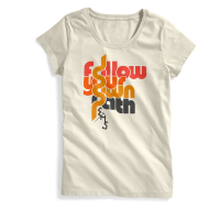 EMS Women's Follow Your Own Path Short-Sleeve Graphic Tee - Size XS