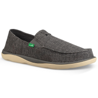 Sanuk Men's Vagabond Tripper Grain Slub Casual Slip-On Shoes - Size 13