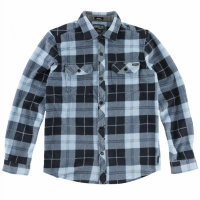 O'neill Boys' Glacier Plaid Long-Sleeve Shirt