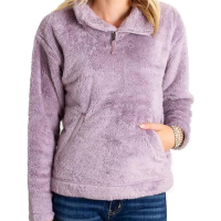 The North Face Women's Furry Fleece Pullover - Size S