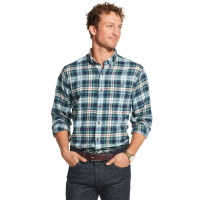 G.h. Bass & Co. Men's Plaid Fireside Flannel Button-Down