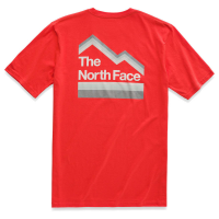The North Face Men's Short-Sleeve Retro Sunsets Tee - Size L Past Season