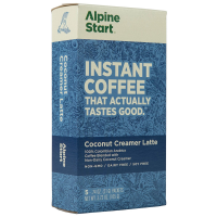 Alpine Start Instant Coffee, Non-Dairy Coconut Creamer Latte