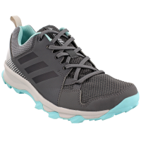 Adidas Women's Terrex Tracerocker Trail Running Shoes, Grey Five/chalk White/easy Coral - Size 7