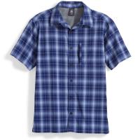 EMS Men's Journey Plaid Short-Sleeve Shirt - Size M