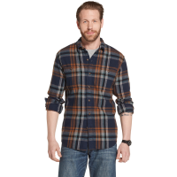 G.h. Bass & Co. Men's Long-Sleeve Plaid Twill Shirt