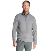 G.h. Bass & Co. Men's Herringbone Jacquard Quarter Zip Fleece