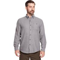 G.h. Bass & Co. Men's Jaspe Solid Long-Sleeve Flannel Shirt
