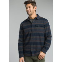 Prana Men's Asylum Flannel Long-Sleeve Shirt - Size S
