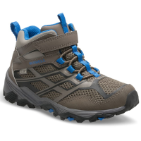 Merrell Big Kids' Moab Mid Waterproof Hiking Boots
