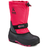 Kamik Girls' Waterbug Waterproof Tall Storm Boots, Rose