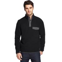 G.h. Bass & Co. Men's Arctic Fleece Snap Placket Pullover