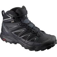 Salomon Men's X Ultra 3 Mid Gtx Waterproof Hiking Boots, Wide - Size 8.5