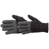 Manzella Women's Color Block Cable Knit Gloves