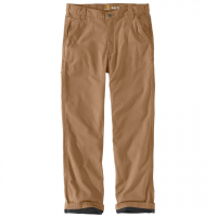 Carhartt Men's Rugged Flex Rigby Dungaree Knit Lined Pants