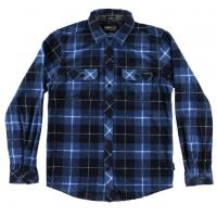 O'neill Boys' Glacier Plaid Long-Sleeve Shirt