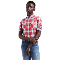 Levi's Women's Classic Western Plaid Shirt