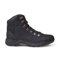 Gelert Men's Leather Mid Hiking Boots - Size 9.5