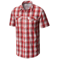 Columbia Men's Silver Ridge Lite Plaid Short-Sleeve Shirt - Size L