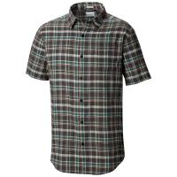 Columbia Men's Under Exposure Yarn-Dye Short Sleeve Shirt - Size L