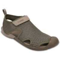 Crocs Women's Swiftwater Mesh Sandals - Size 6