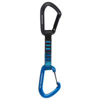 Black Diamond Hotforge Hybrid Quickdraw 12Cm Carabiner