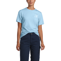 The North Face Women's Logo Tri-Blend Short-Sleeve Tee - Size S