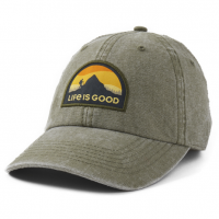 Life Is Good Mountain Hike Sunworn Chill Cap