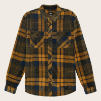 O'neill Men's Glacier Plaid Long-Sleeve Shirt