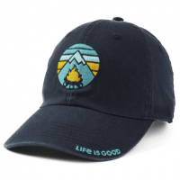 Life Is Good Campfire Mountain Chill Cap